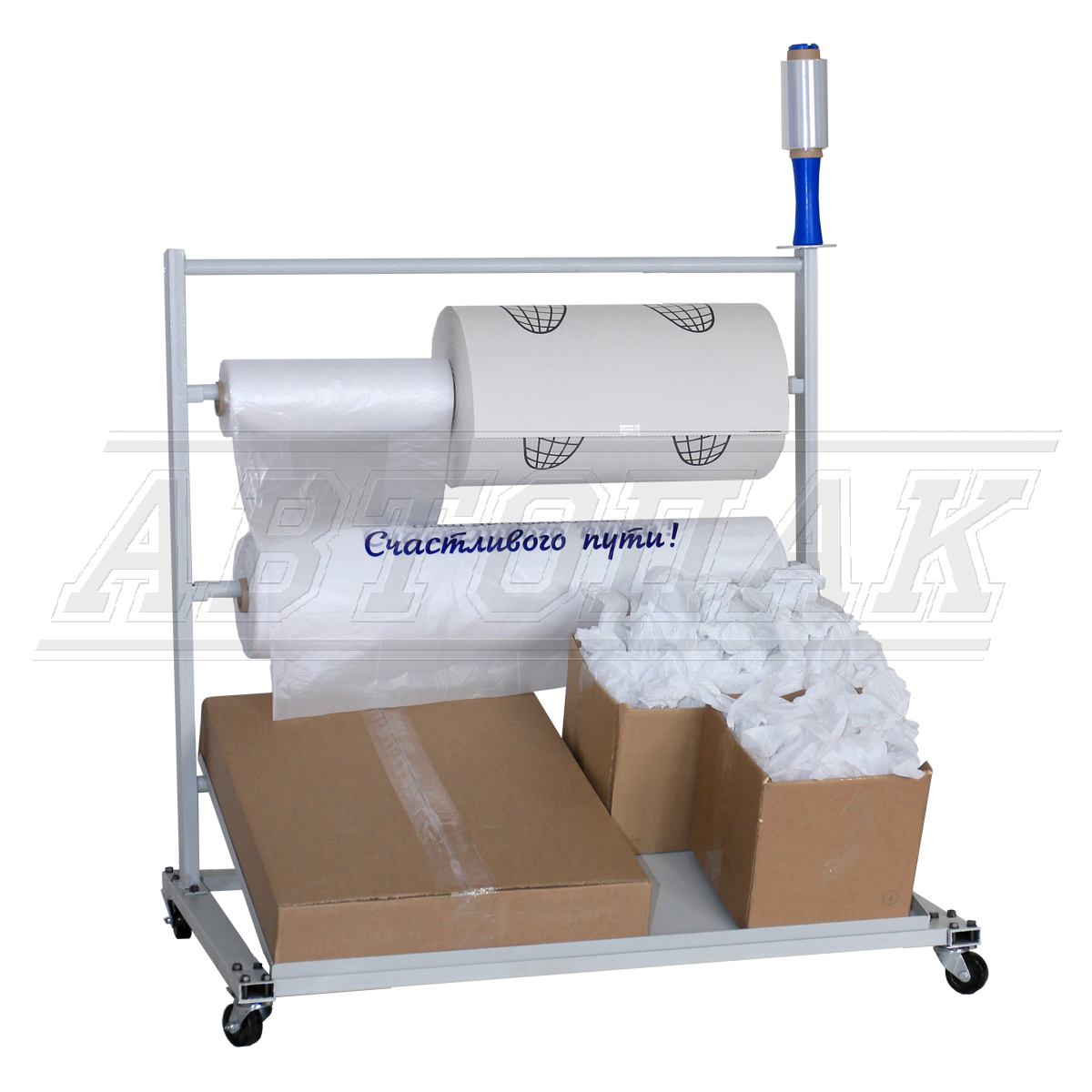 Dispensers for disposable polyethylene covers for seats