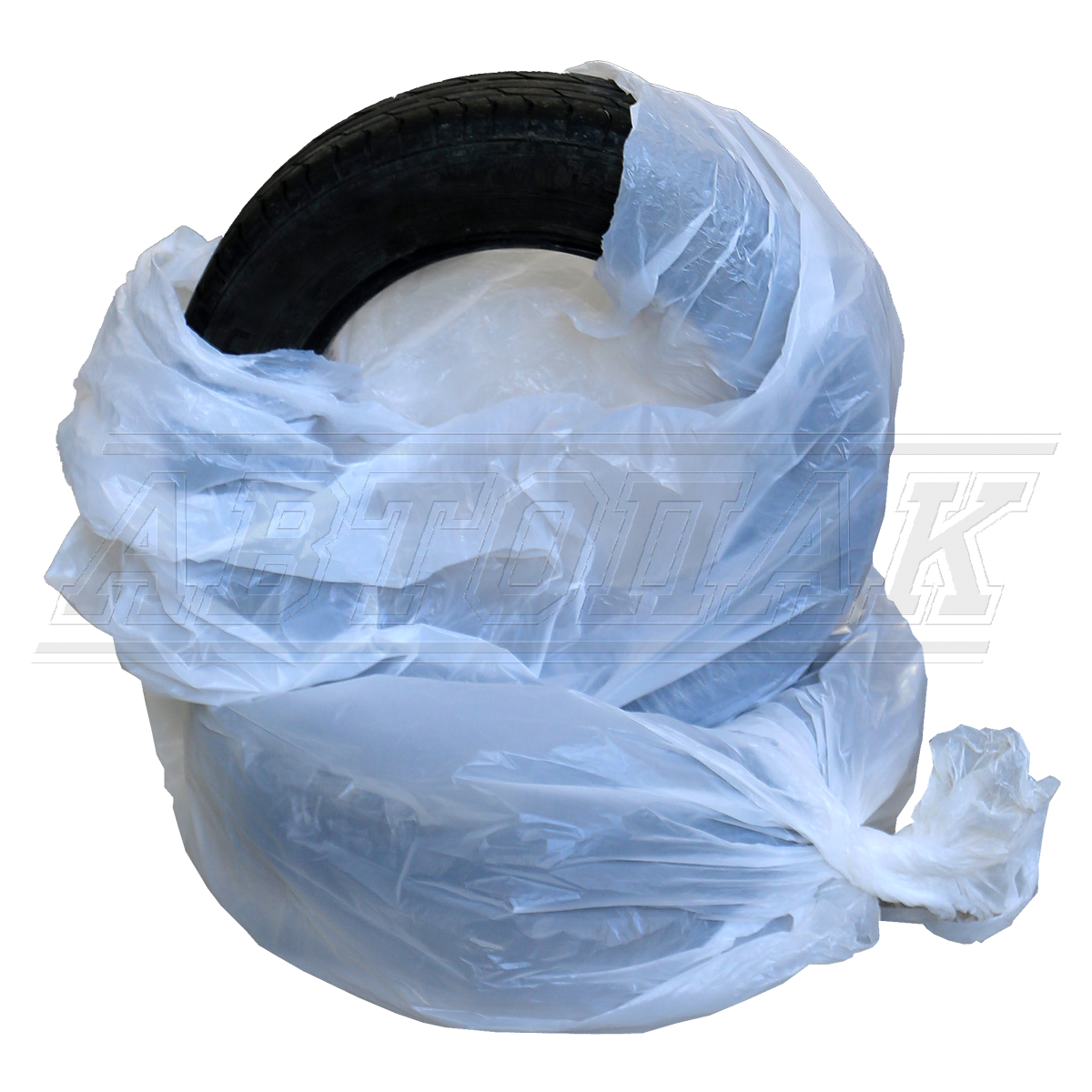 Polyethylene bags for wheels