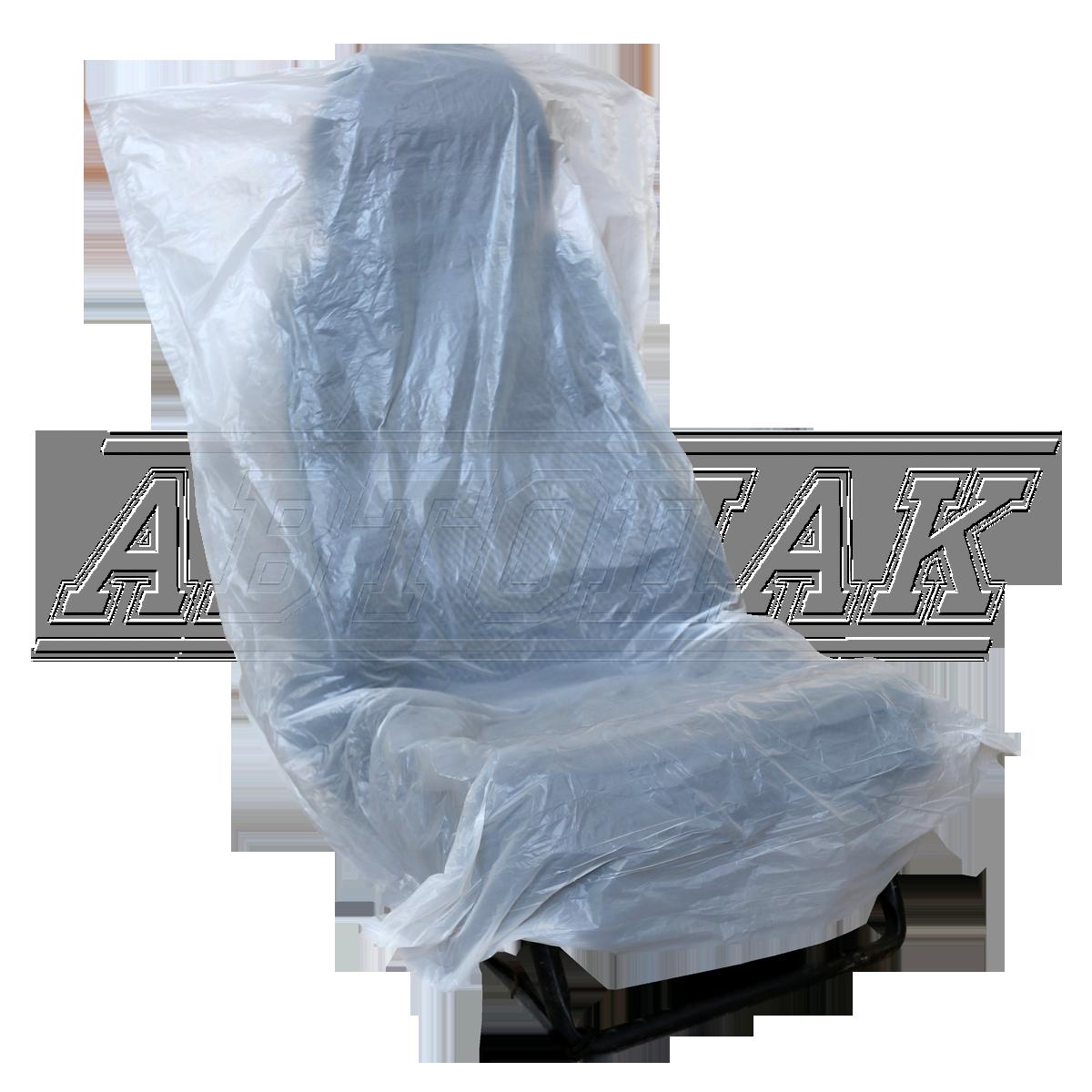 "Disposable polyethylene seat covers (""Pocket"" Design)"